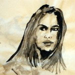 Ink painting exercise