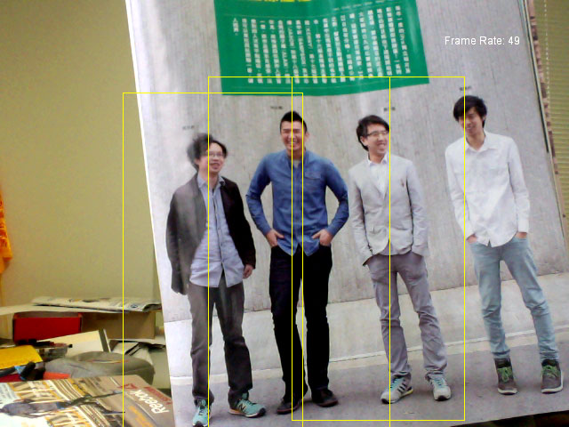 People Detection In Processing With Opencv Magic Amp Love