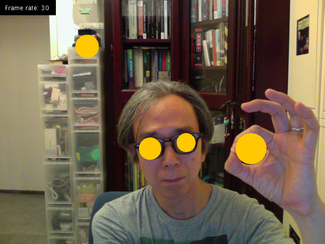 OpenCV and Processing 17 – Magic & Love Interactive
